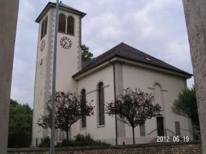 Kircheeingang